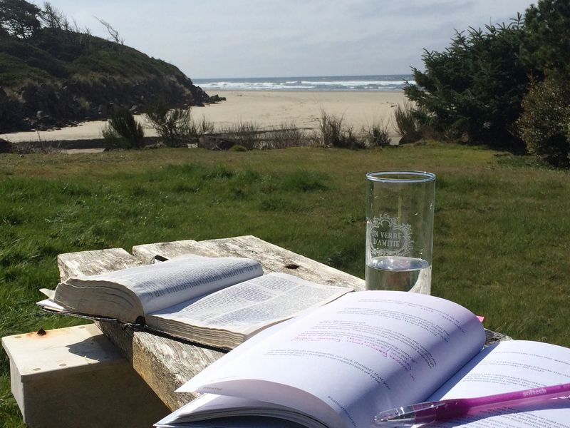 Book and the Beach