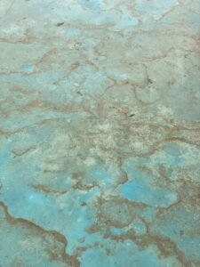 Water on Copper