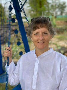 Sharon M in India