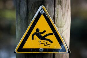 Caution Creek Sign