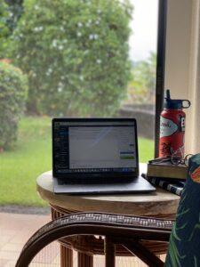 Writing in Hawaii