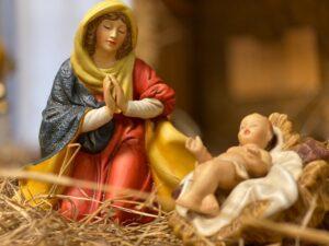 Mary in Nativity