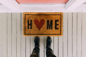 """""""Home"""" mat"""