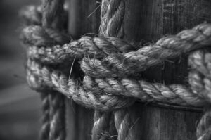 tethered rope