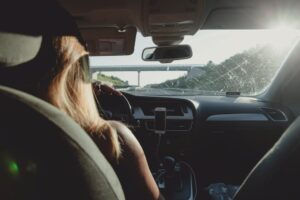 daughter driving